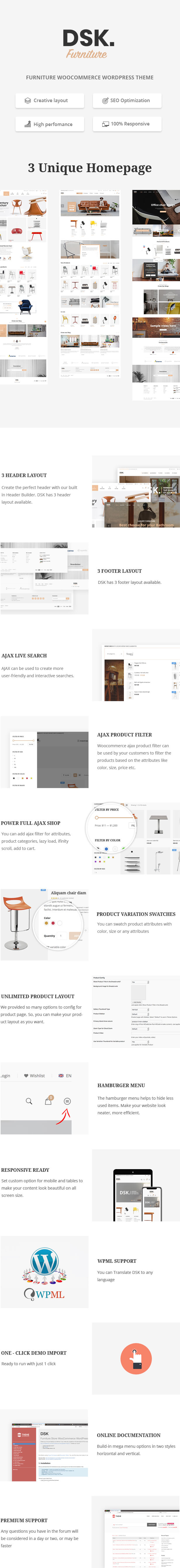 DSK - Furniture Store WooCommerce WordPress Theme - 1